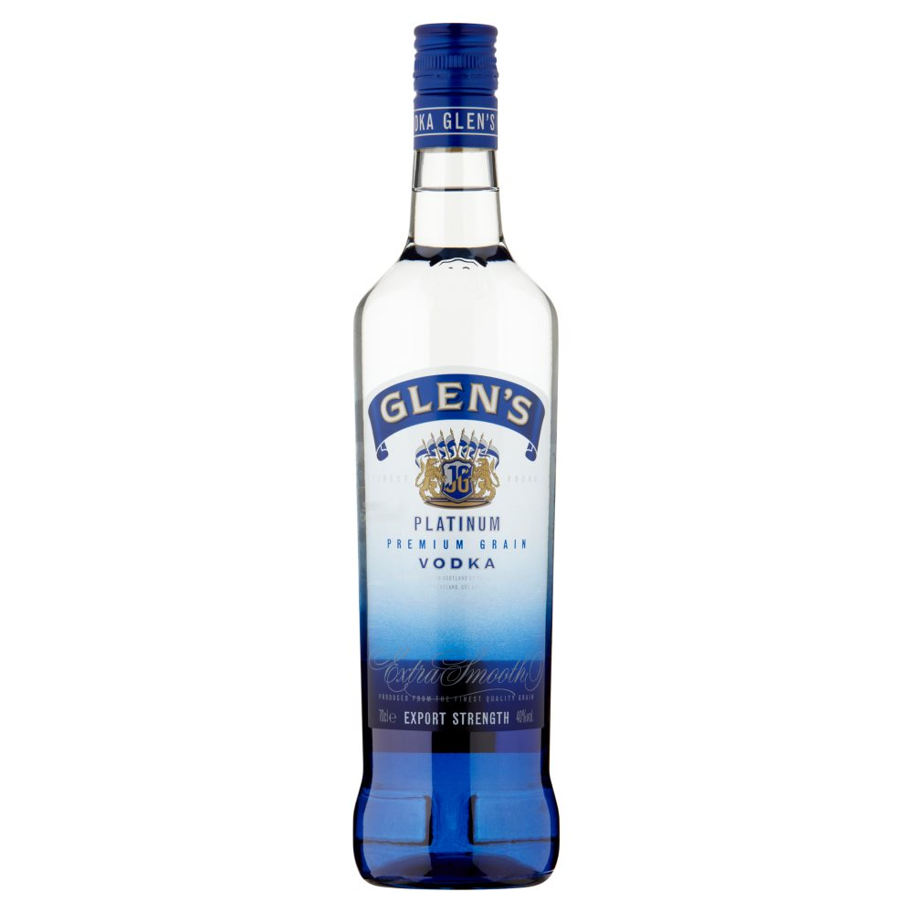 Glens Platinum Vodka
