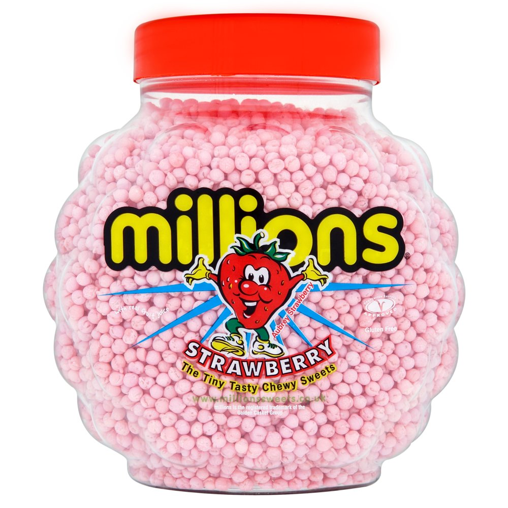 Millons Jars - Strberry