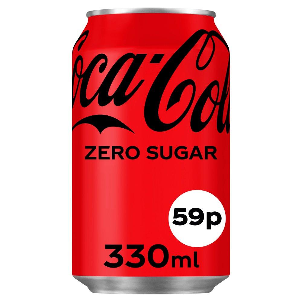 Coca-Cola Zero Sugar 24 x 330ml PMP 59p