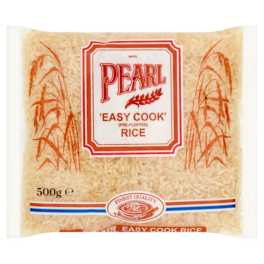 White Pearl Easy Cook Rice 500g