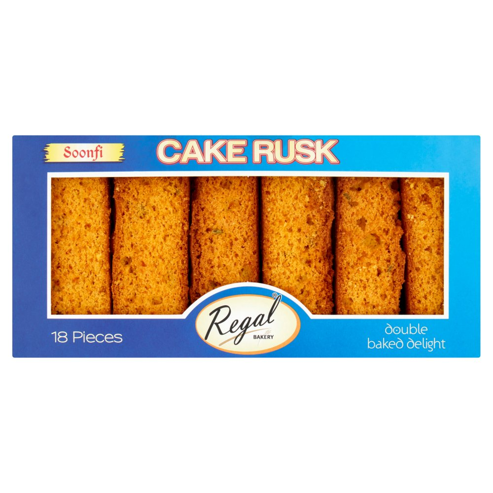 Regal Bakery 18 Soonfi Cake Rusk