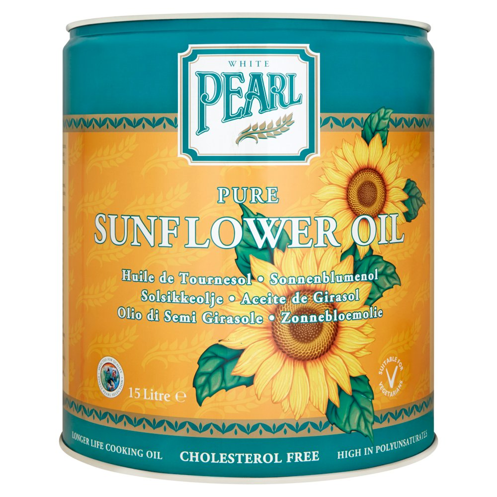 White Pearl Sunflower Oil 15Ltr