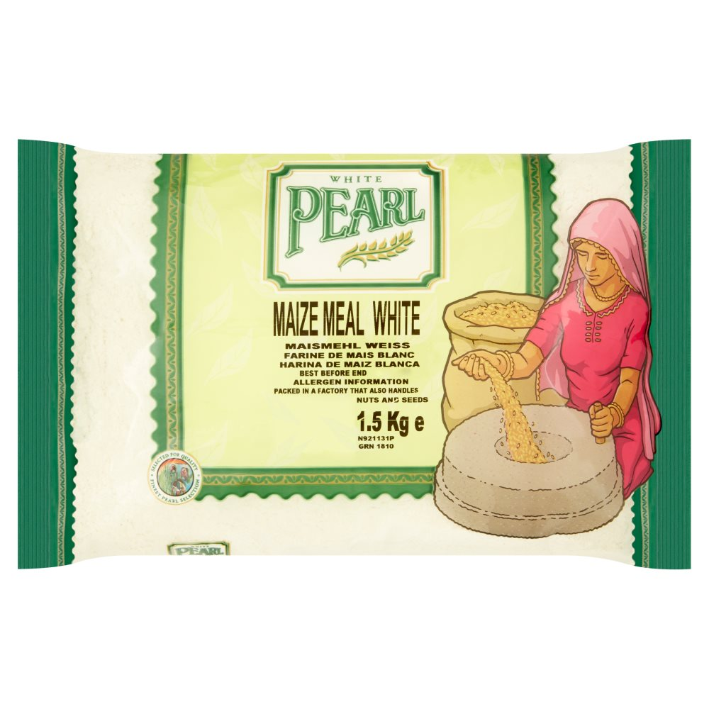 White Pearl Maize Meal White 1.5kg