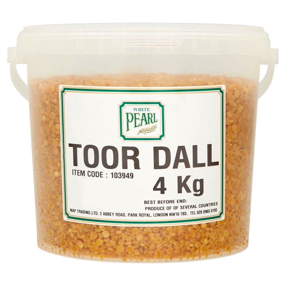 White Pearl Toor Dal 4Kg