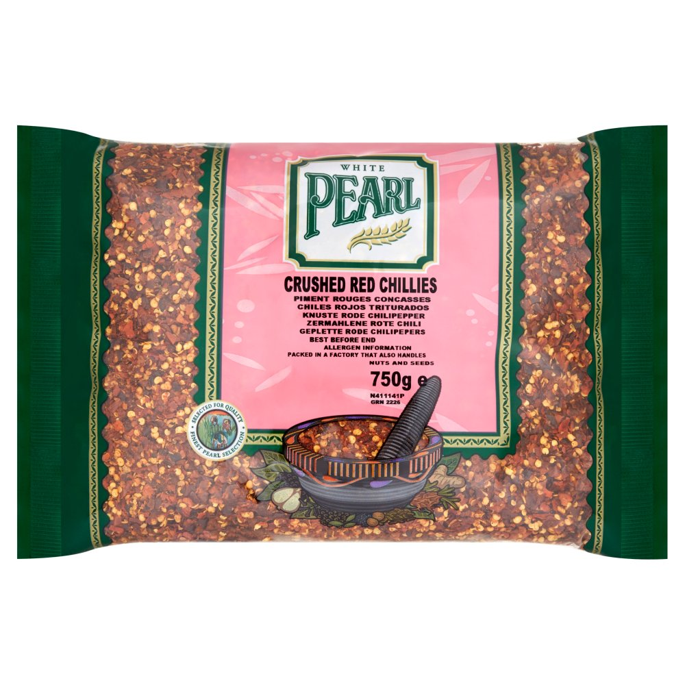 White Pearl Red Crushed Chilli