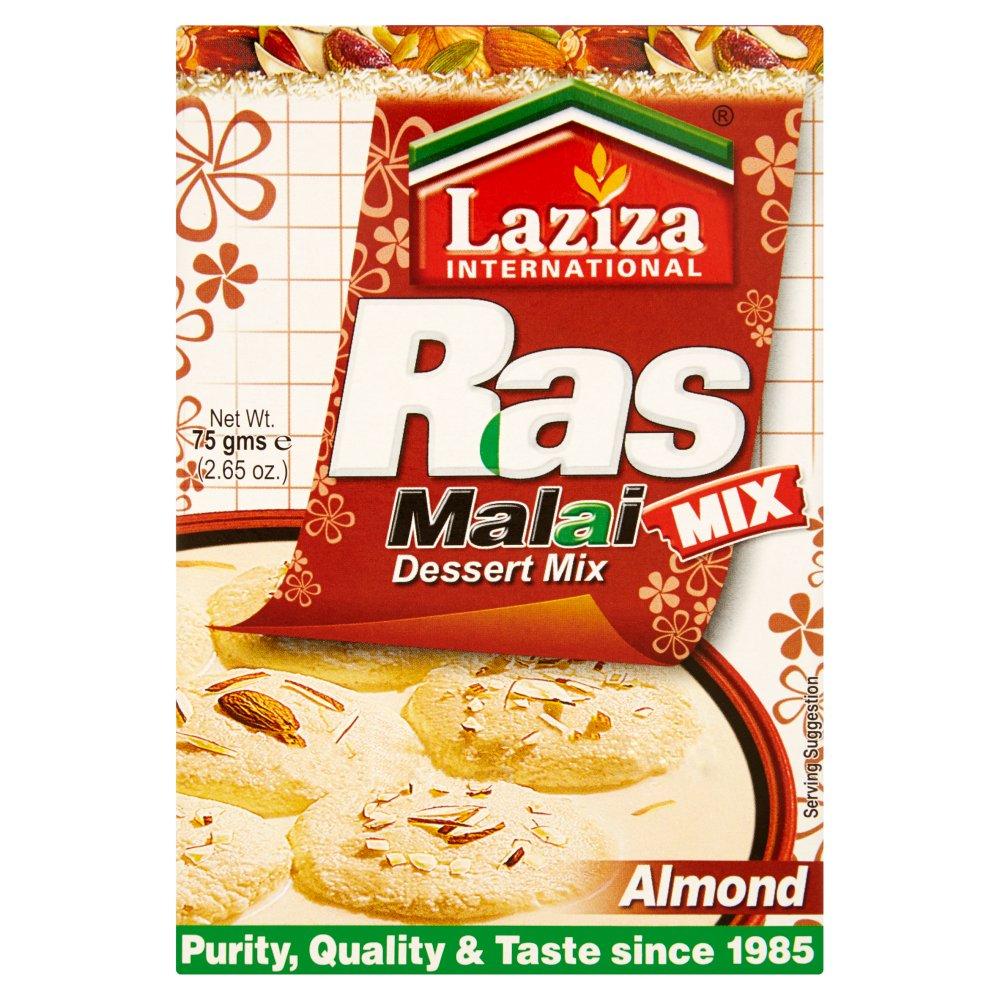 Laziza International Ras Malai Almond Dessert Mix 75g