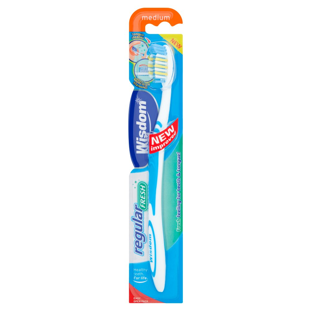 Wisdom Regular Medium Toothbrush 12F6