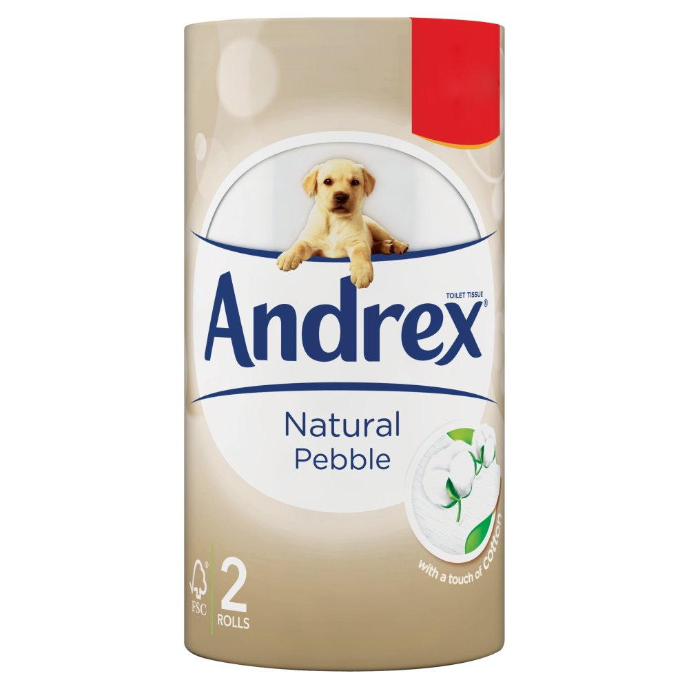 Andrex £1.09 Natural