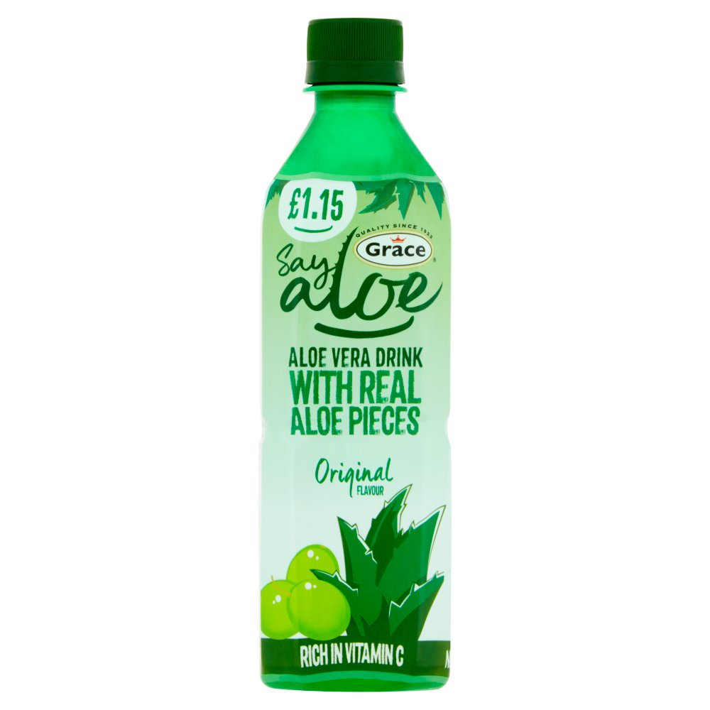 Grace Say Aloe Vera Drink Original Flavour £1.15 PMP 500ml