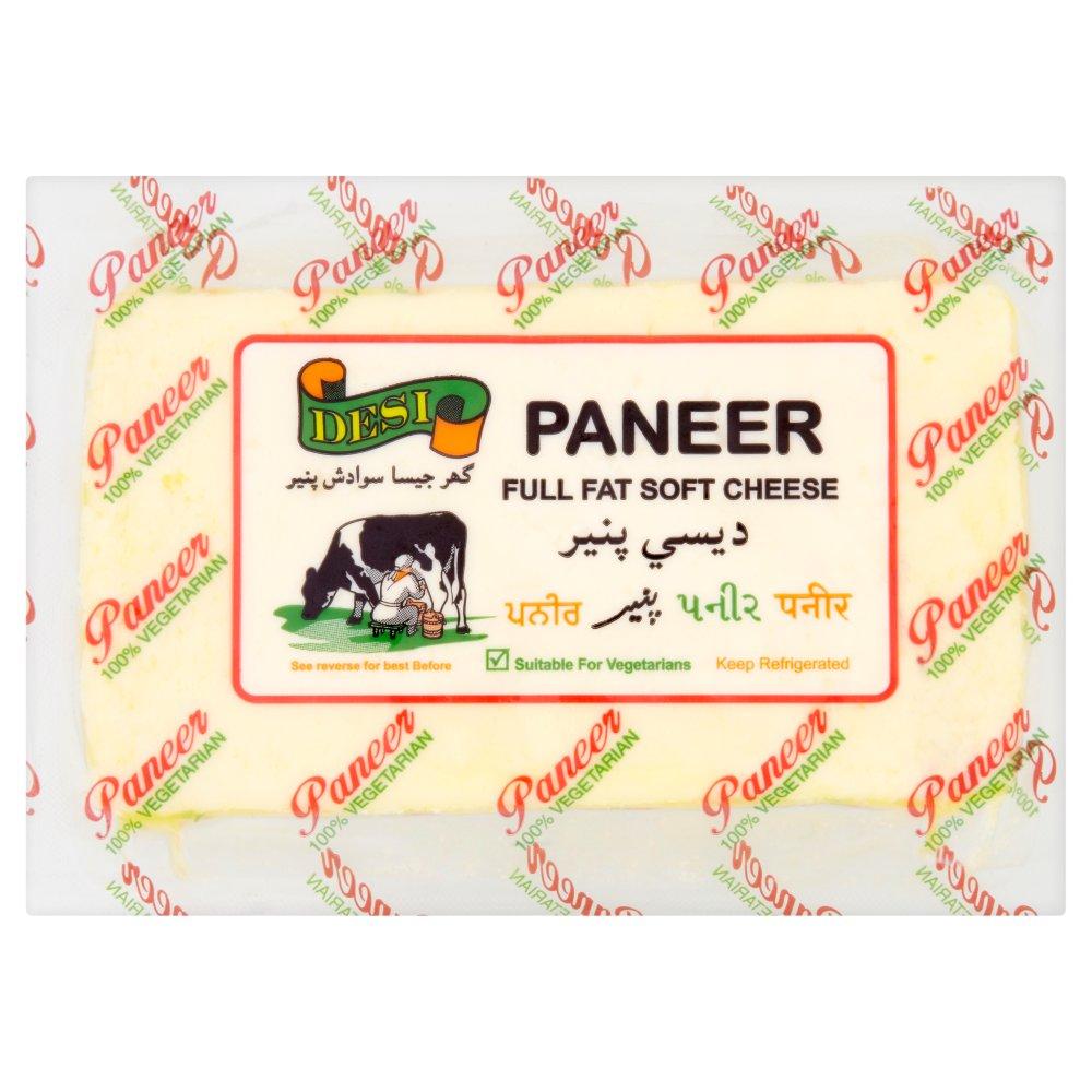 Desi Paneer Full Fat Soft Cheese 250g