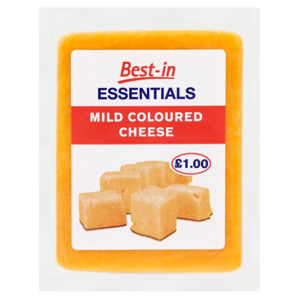 Best-in Essentials Mild Coloured Cheese 150g
