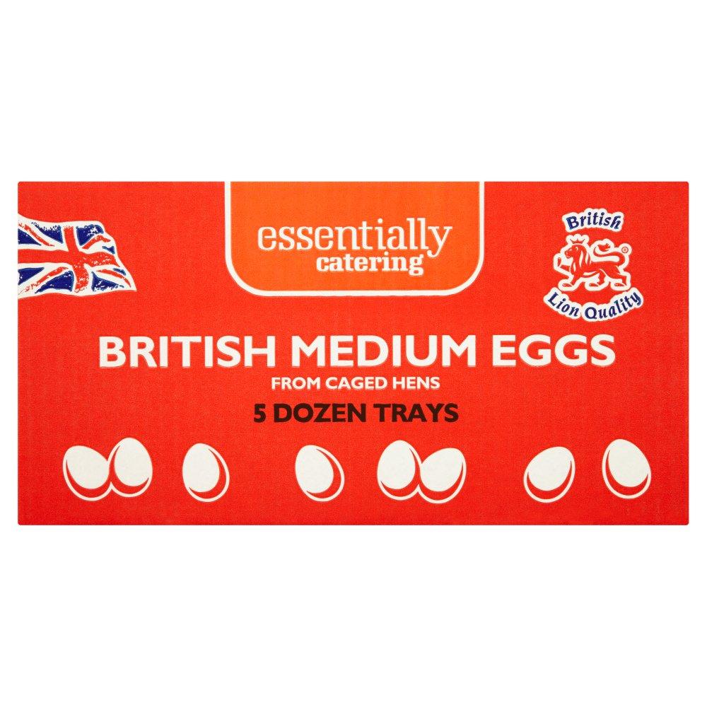 Essentially Catering British Medium Eggs 5 Dozen Trays