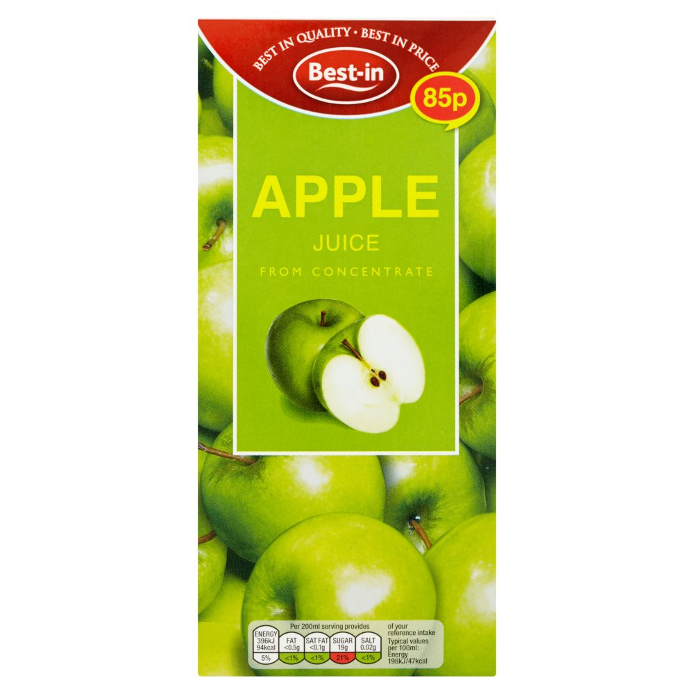 Bestin Apple Juice Drink PM 85p