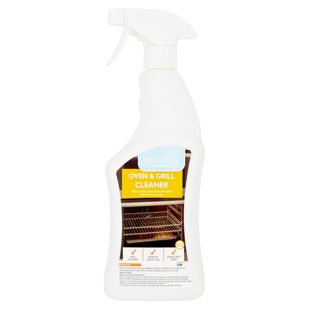 Essentially Cleaning Oven & Grill Cleaner K15 750ml