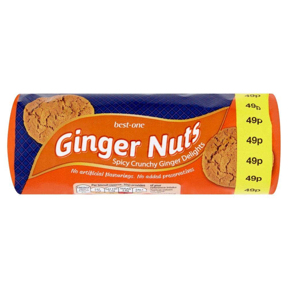 Best-One Ginger Nuts 150g