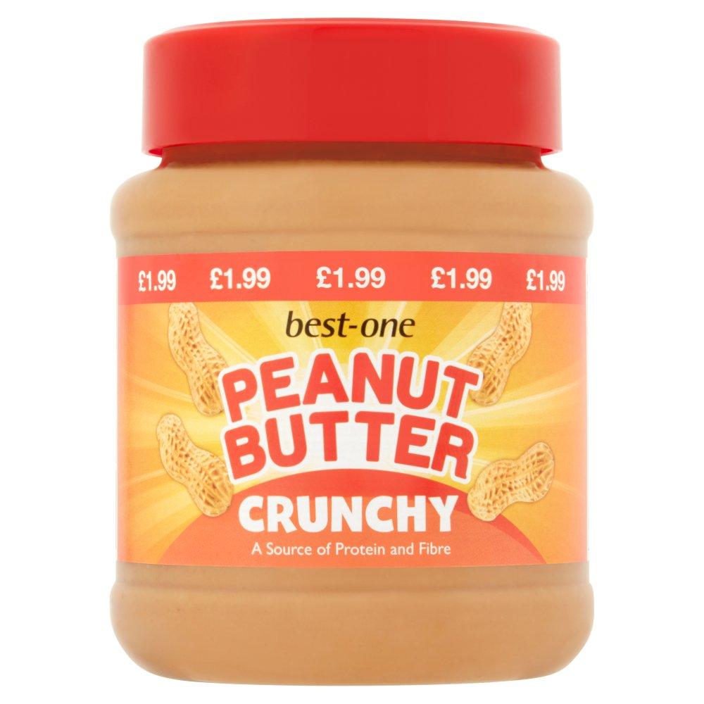 Best-One Peanut Butter Crunchy 340g