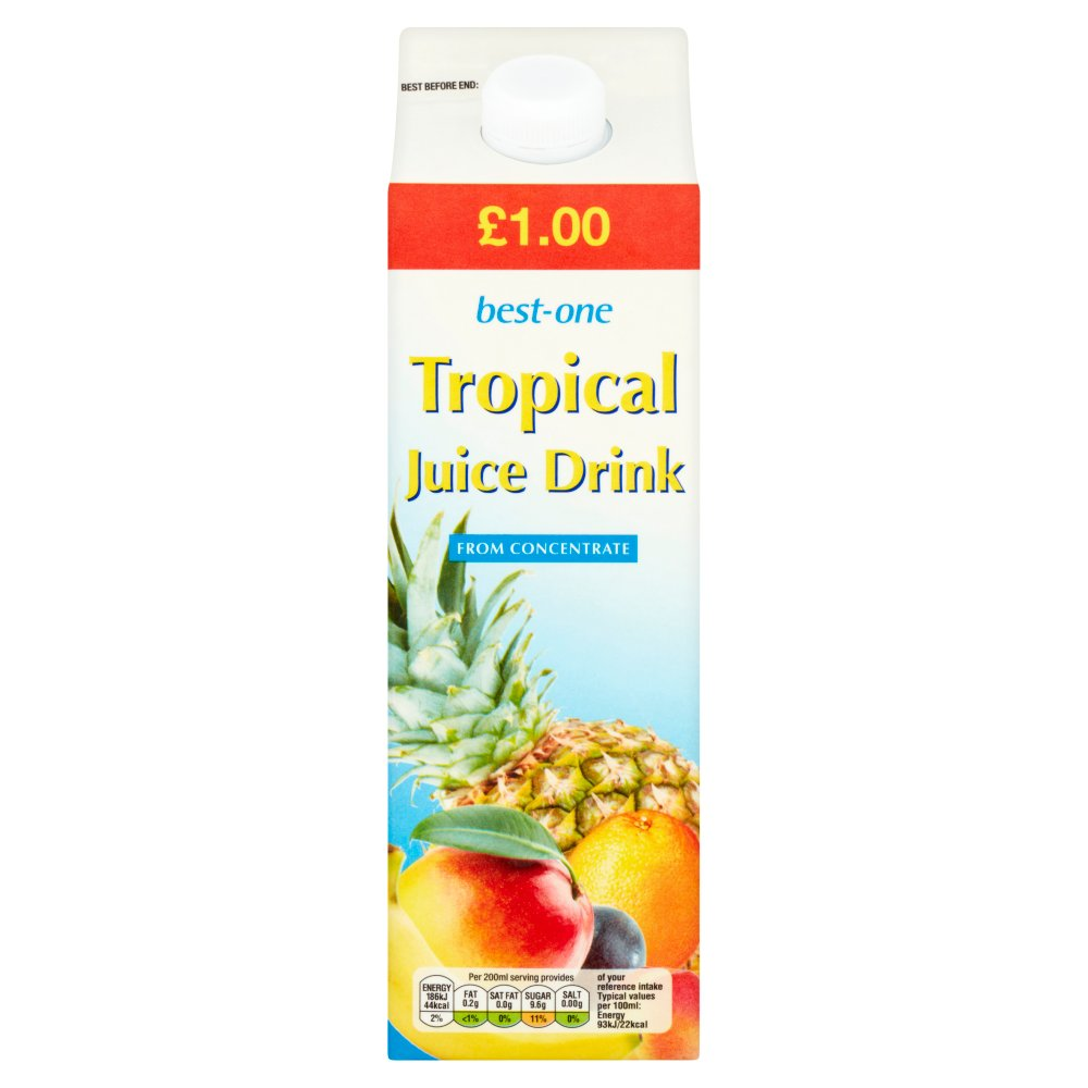 Best-One Tropical Juice Drink 1 Litre
