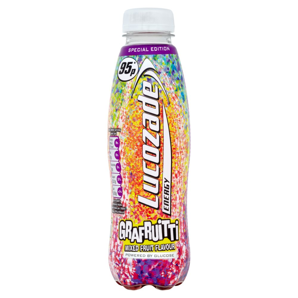 Lucozade Energy Grapefruitti PM 95p