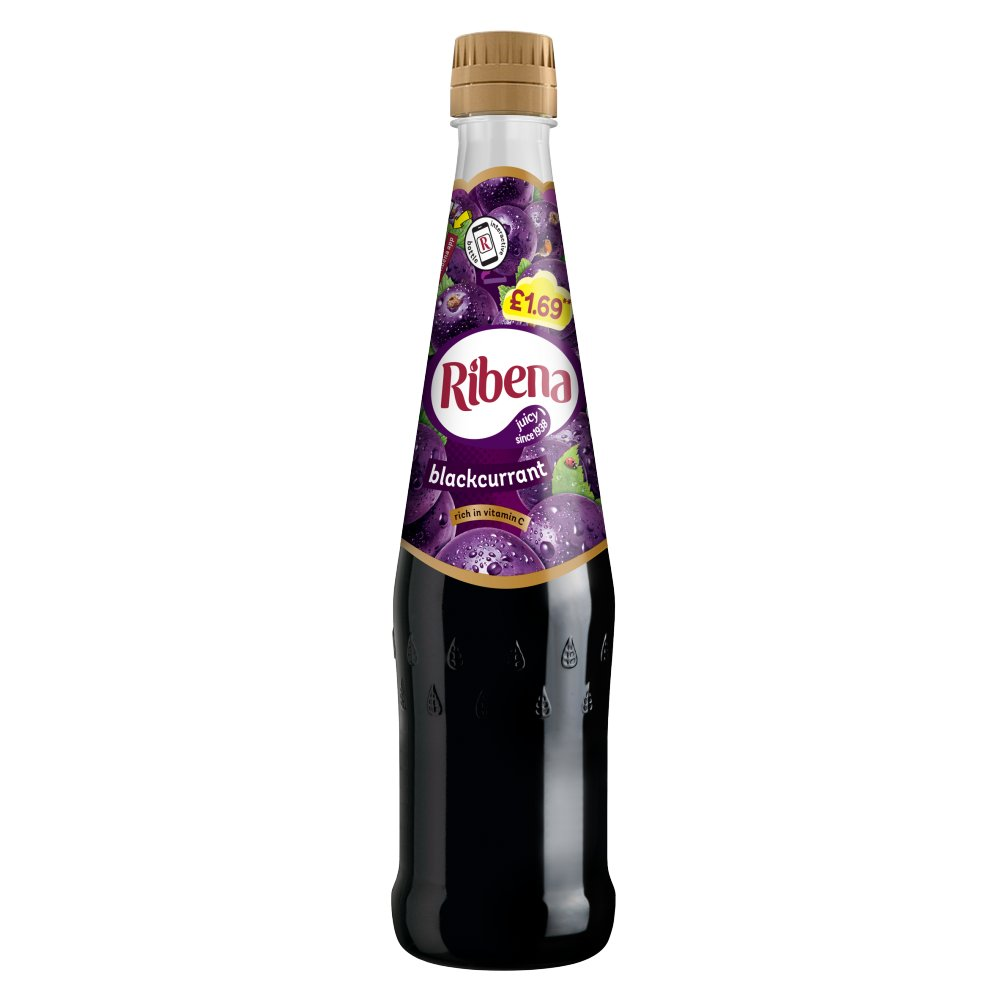 Ribena Blackcurrant Concentrated PM £169