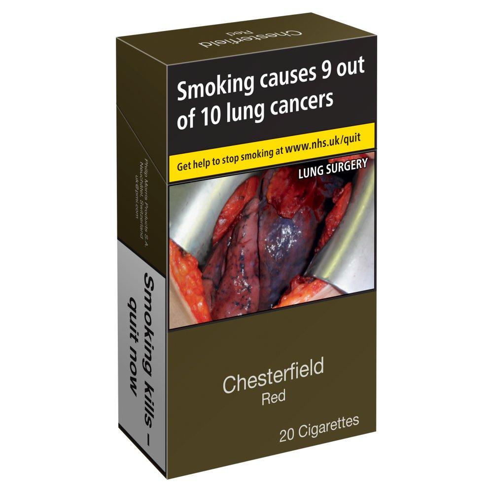 Cigarettes Chesterfield