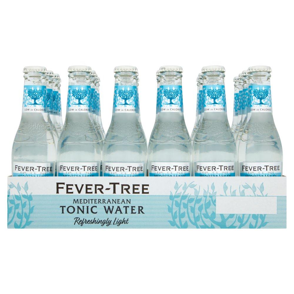 Fever-Tree Refreshingly Light Mediterranean Tonic Water 24 x 200ml