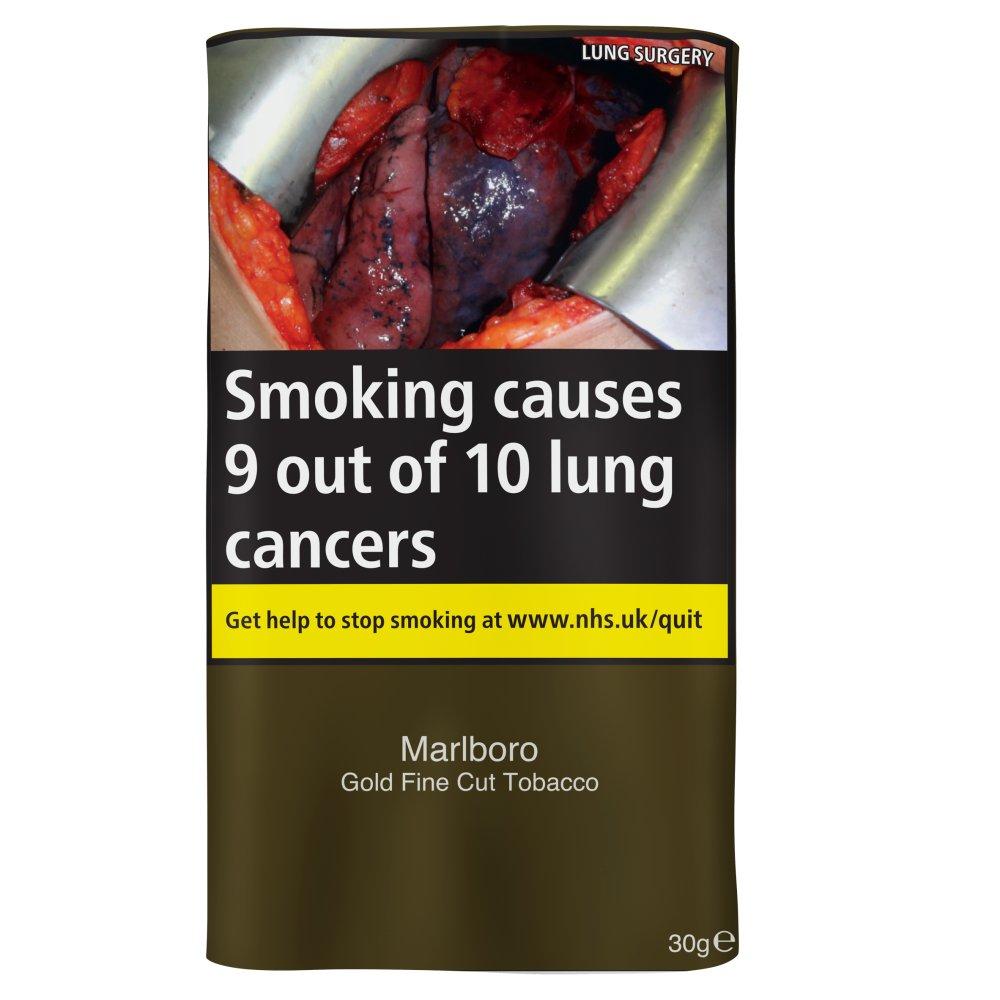 Marlboro Gold Fine Cut Tobacco 30g