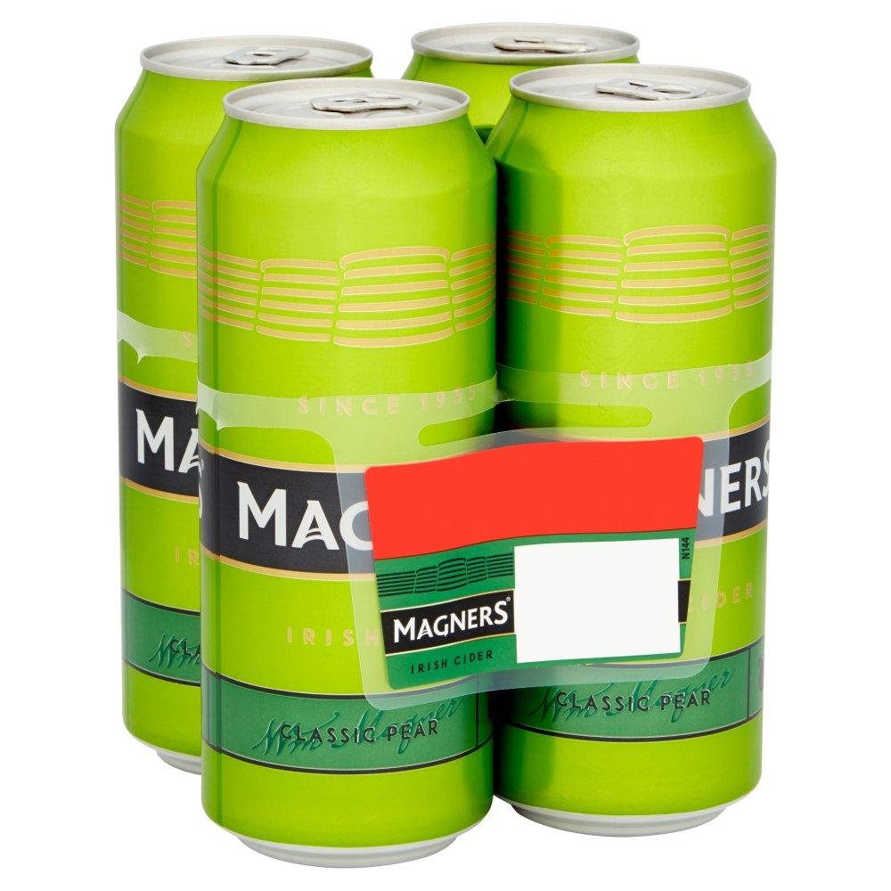 Magners Irish Cider Classic Pear 4 x 500ml