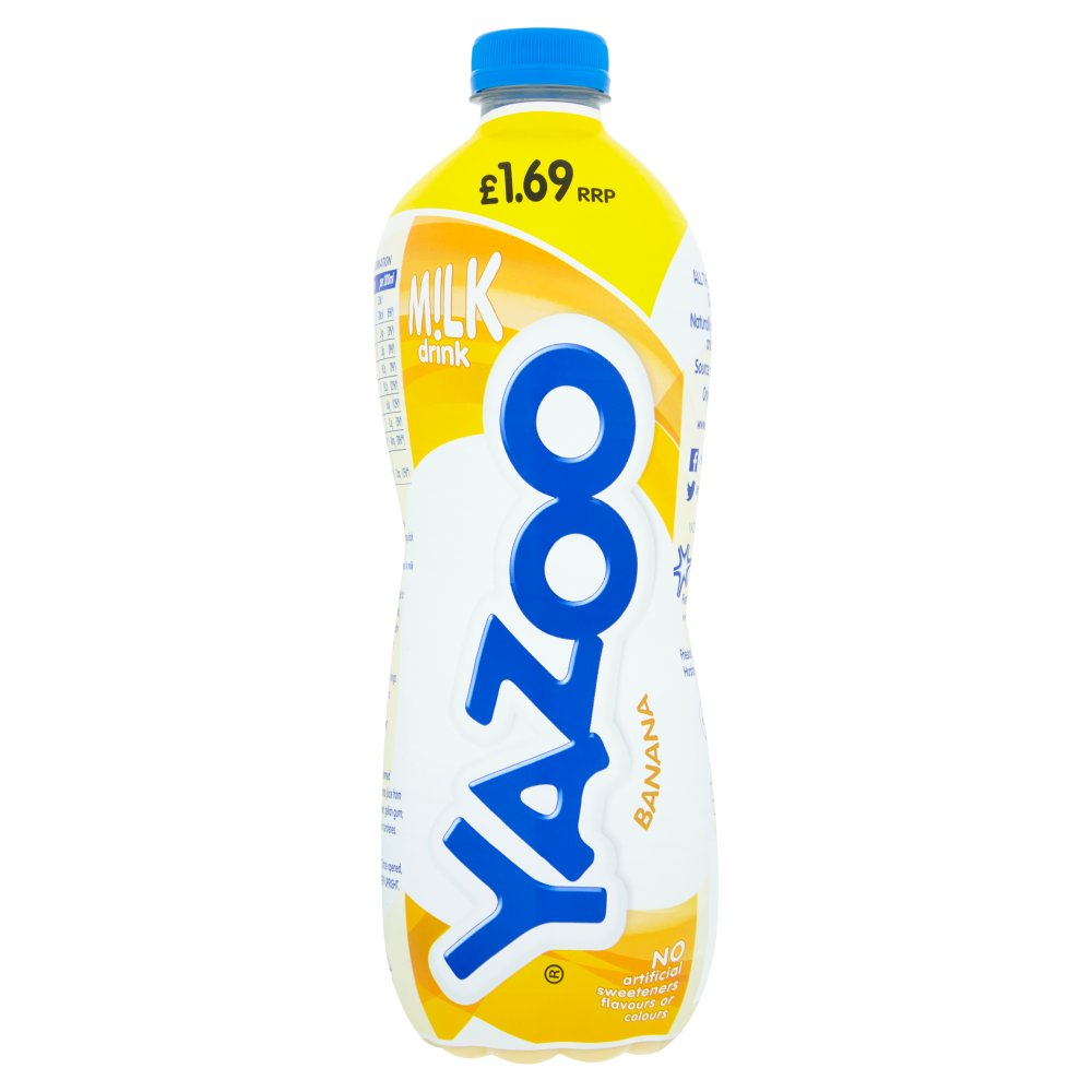 Yazoo Banana Milk Drink 1L