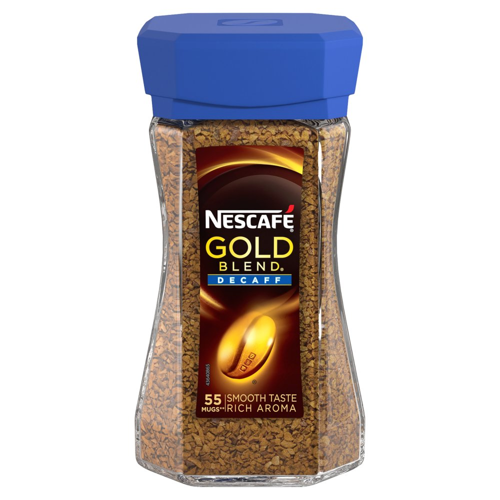 Nescafe Gold Blend Decaff Instant Coffee 100g