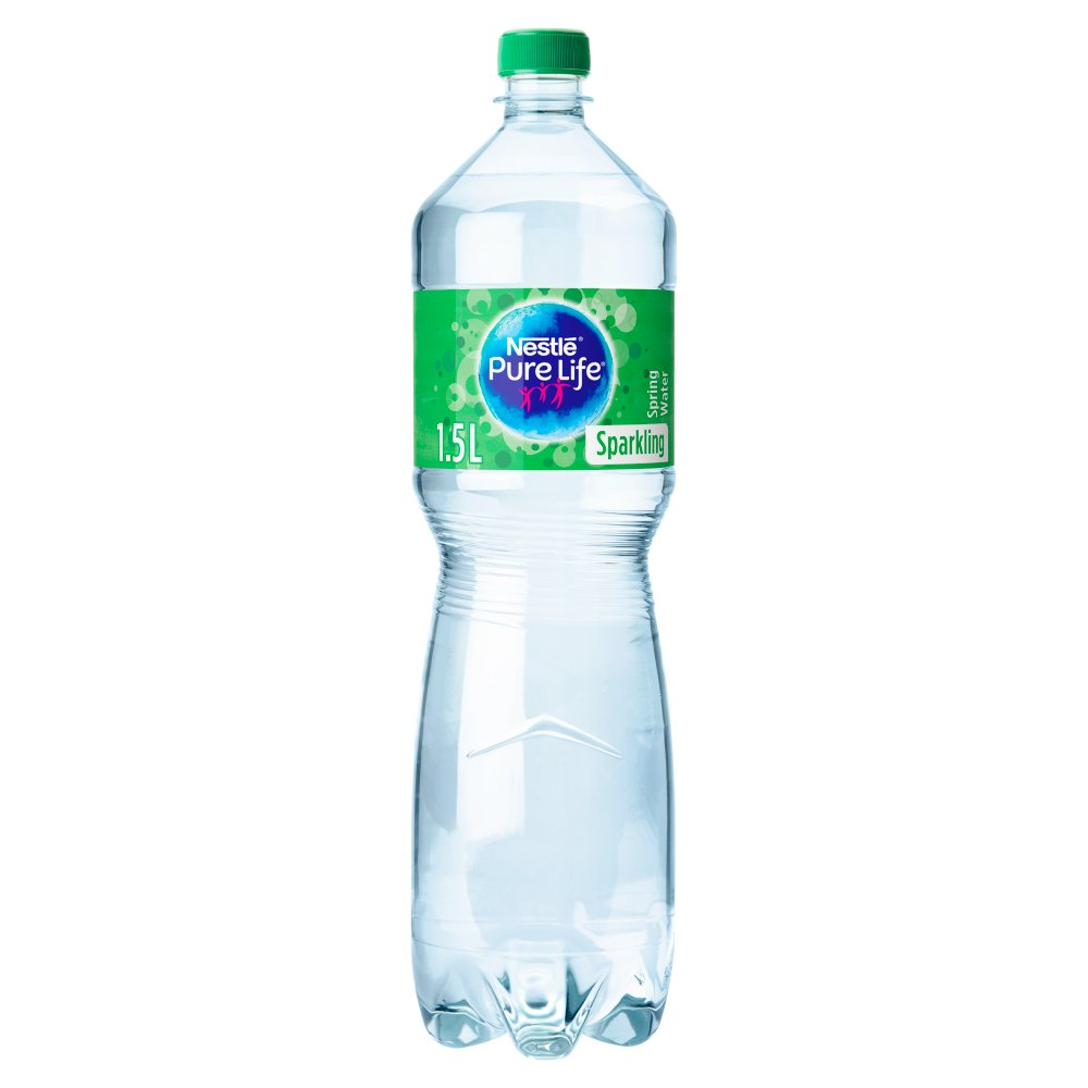 Nestle Pure Life Sparkling Spring Water 1.5L