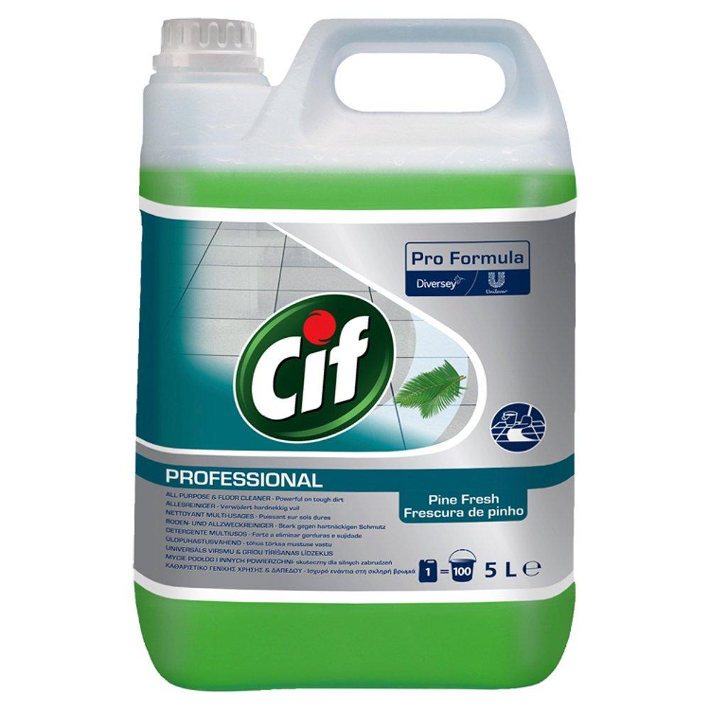 Cif Pro Formula Professional All Purpose & Floor Cleaner Pine Fresh 5L