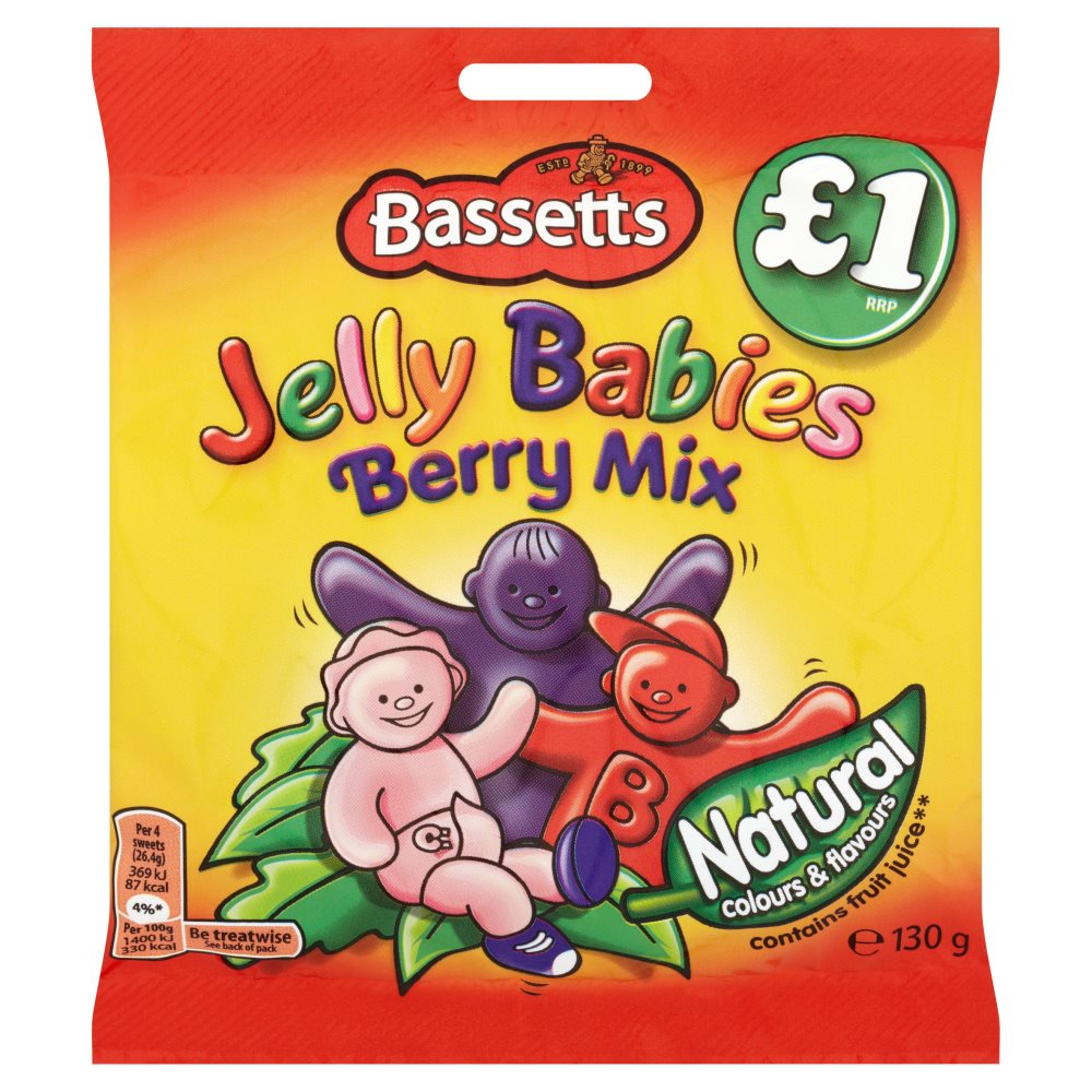 Bassetts Jelly Berry Mix £1