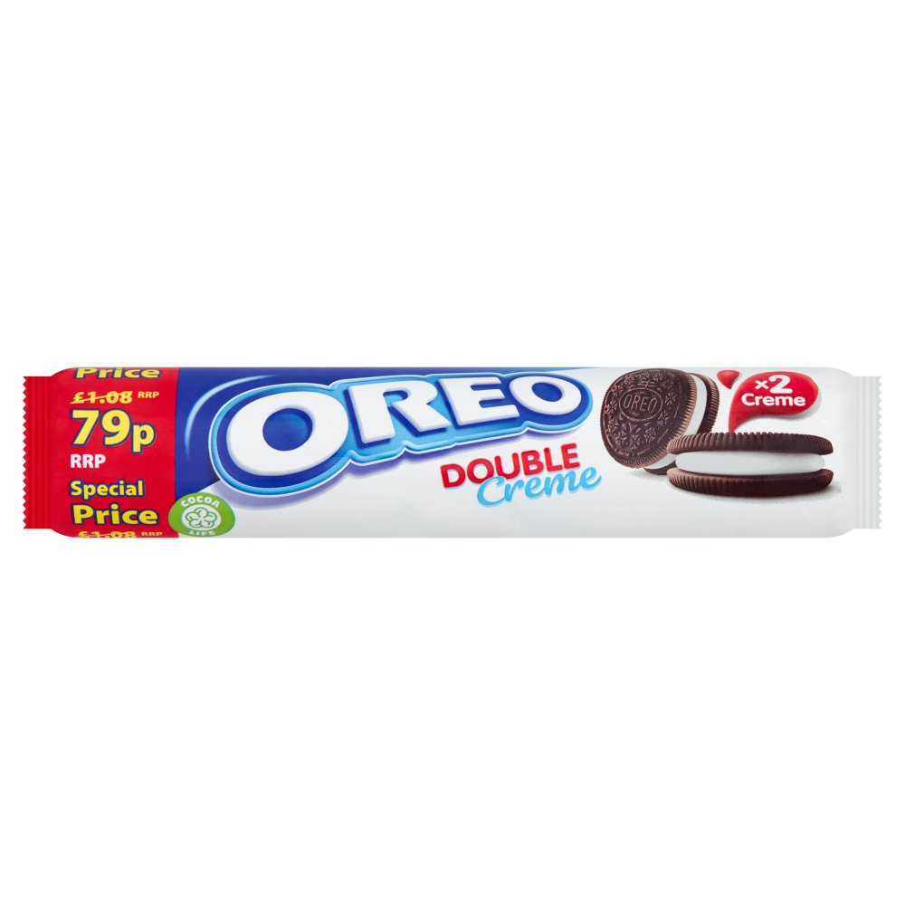 Oreo Double Creme Sandwich Biscuit 79p 157g