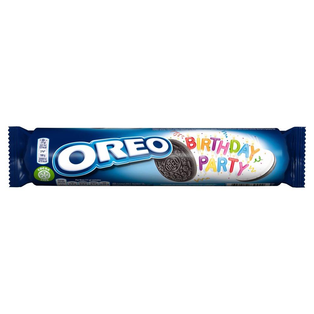 Oreo Birthday Party Sandwich Biscuit 154g