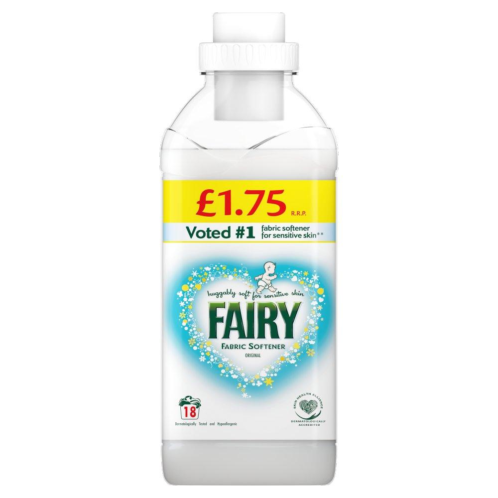 Fairy Fabric Conditioner Original 630ML, 18 Washes