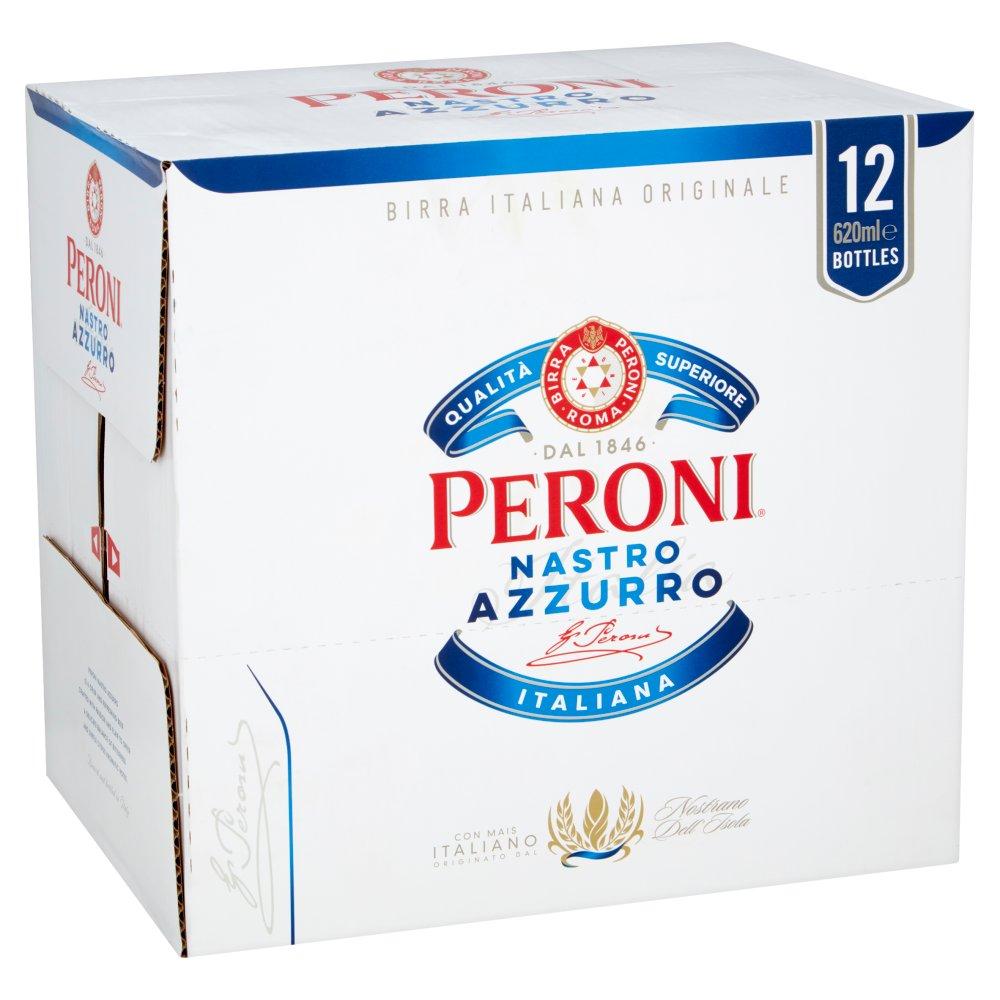 Peroni Nastro Azzurro 12 x 620ml