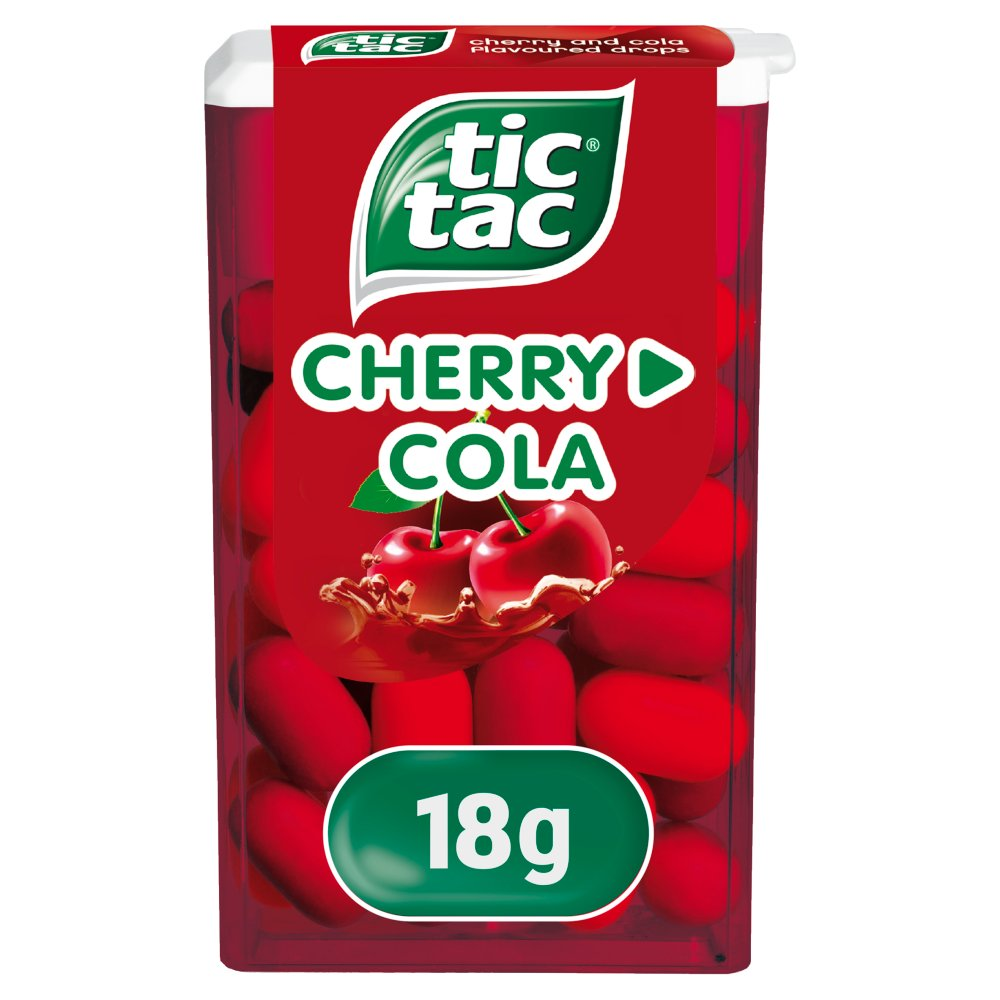 Tic Tac Mixers Cherry Cola 18g