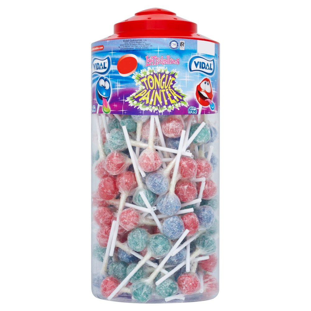 Tongue Painter Lollies