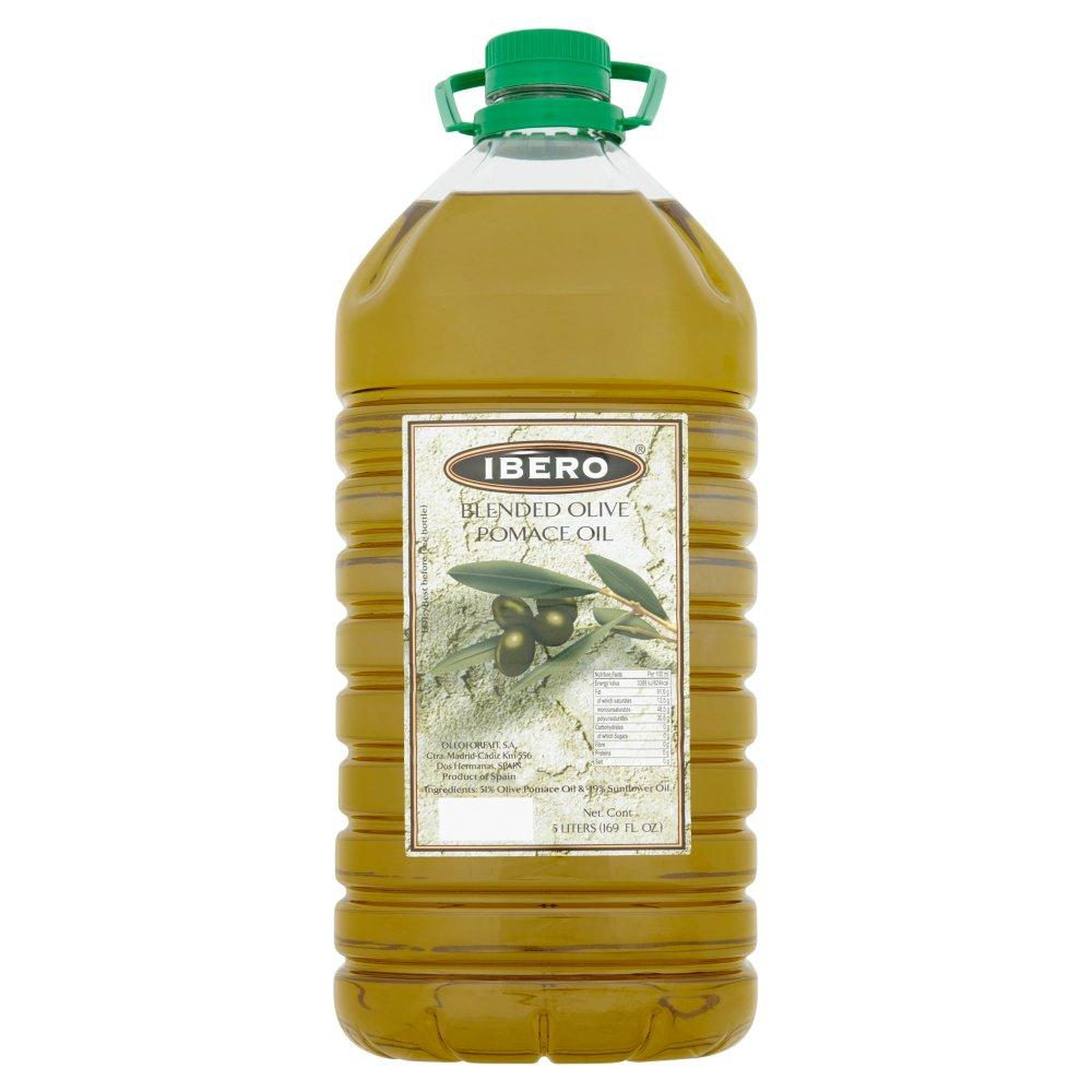 Ibero Blended Olive Pomace Oil 5 Liters