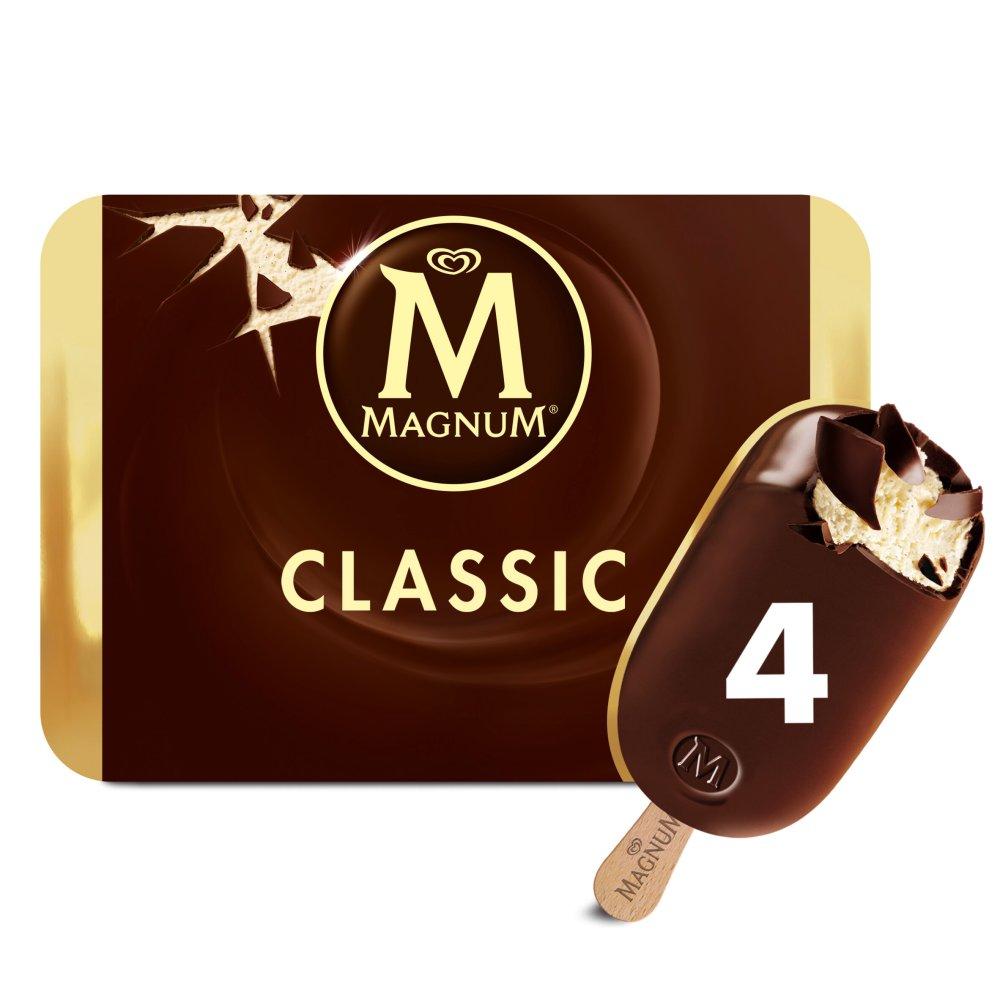 Magnum Chocolate Ice Cream 4 x 110ml