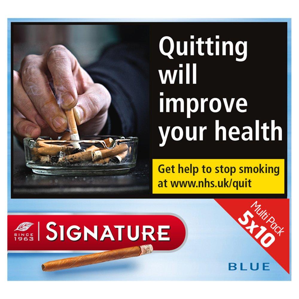 Signature Blue 50 Cigars