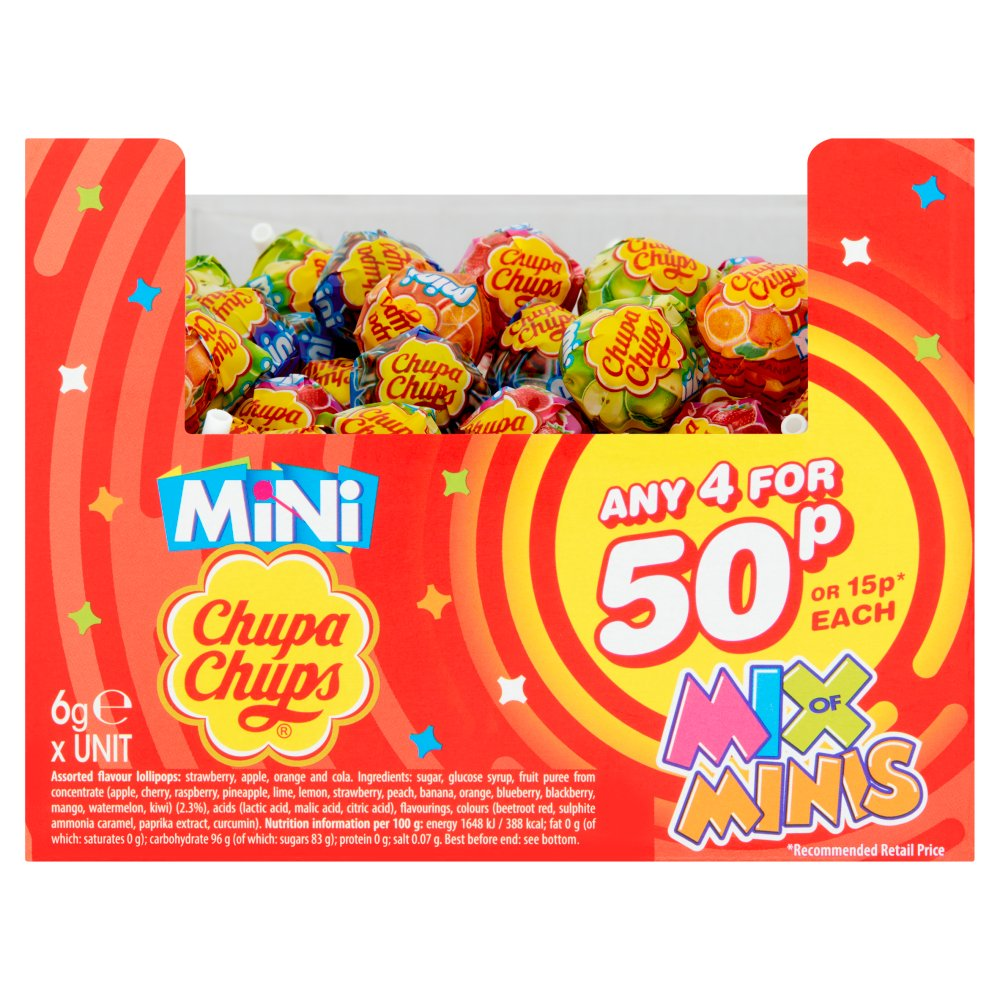 Chupa Chup's Mix of Minis 6g