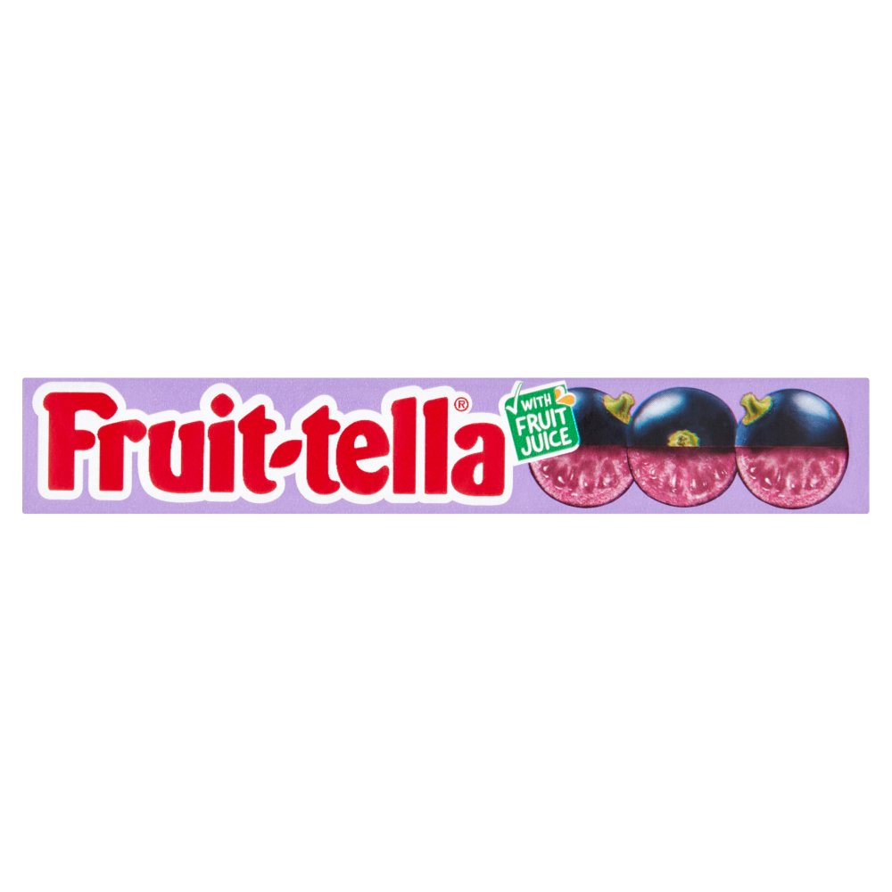 Fruittella Blackcurrant Stick 41g