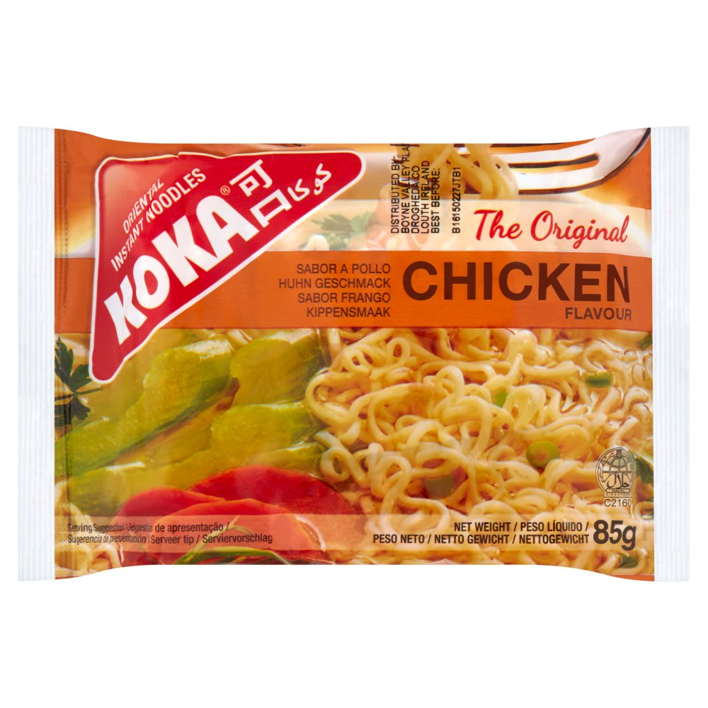 Koka Chicken Flv Inst Noodles