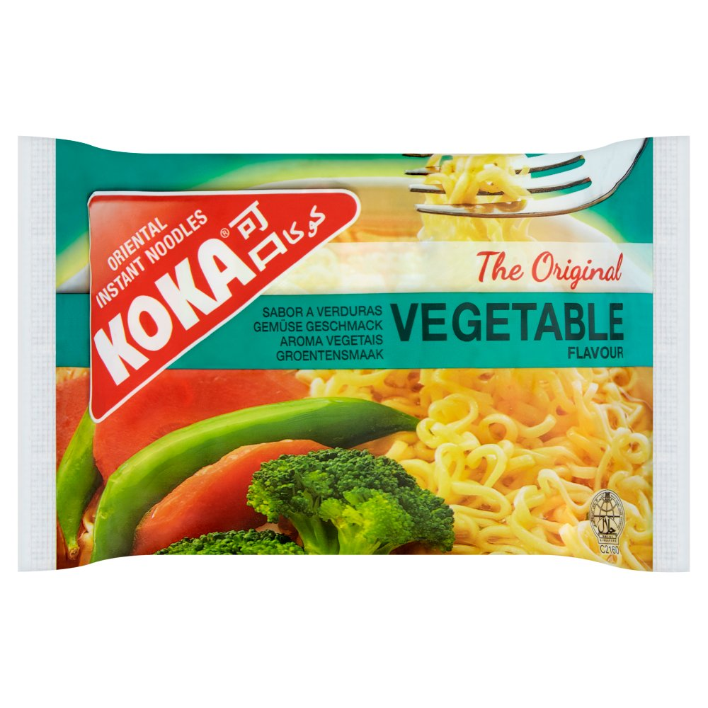 Koka The Original Vegetable Flavour Oriental Instant Noodles 85g