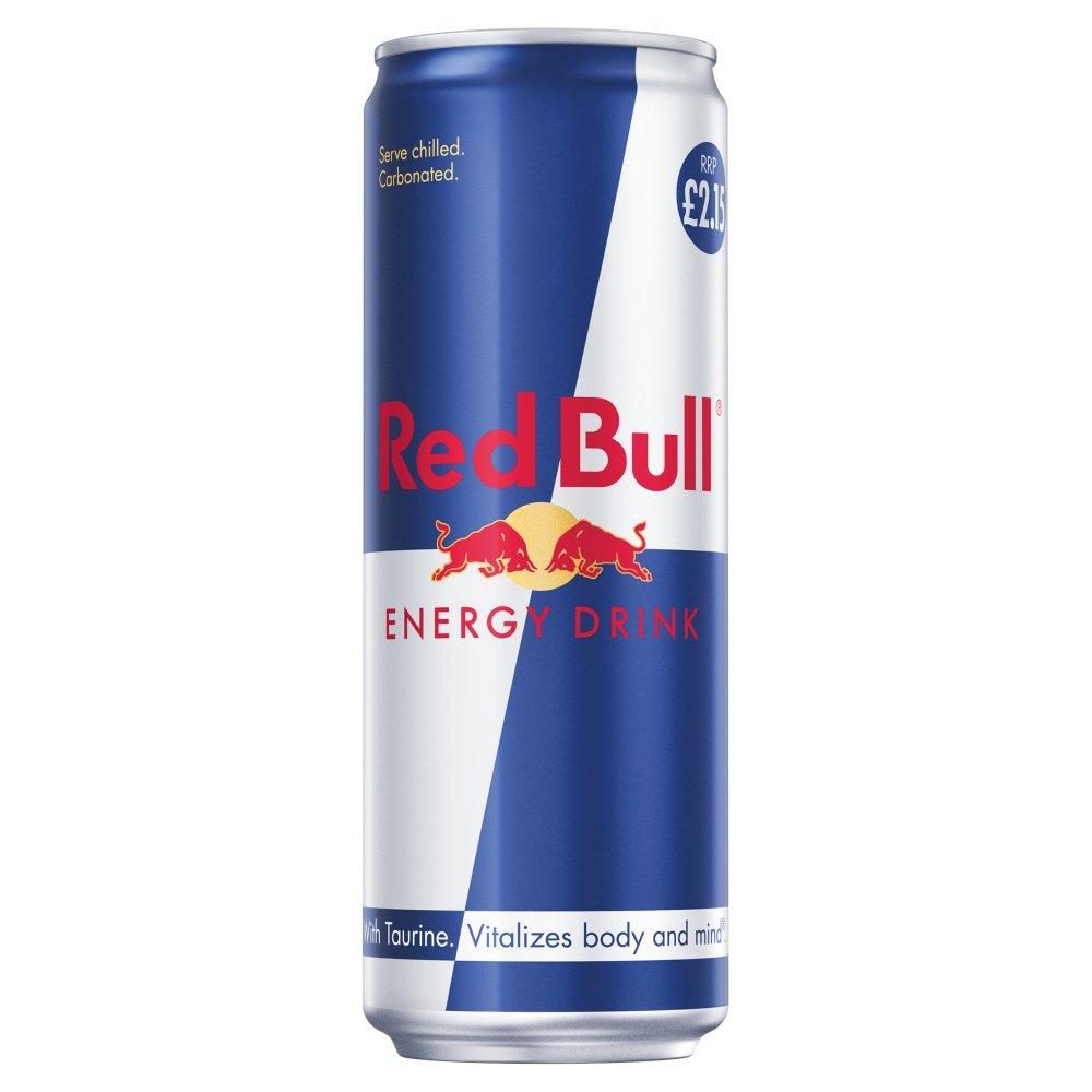 Red Bull Energy Drink, 473ml, PM £2.15 (12 Pack)
