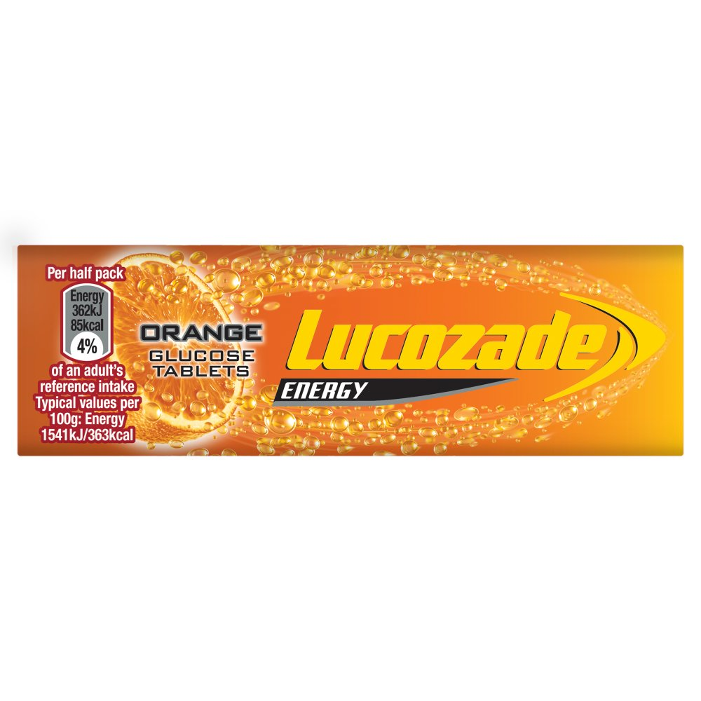 Lucozade Tablets Orange