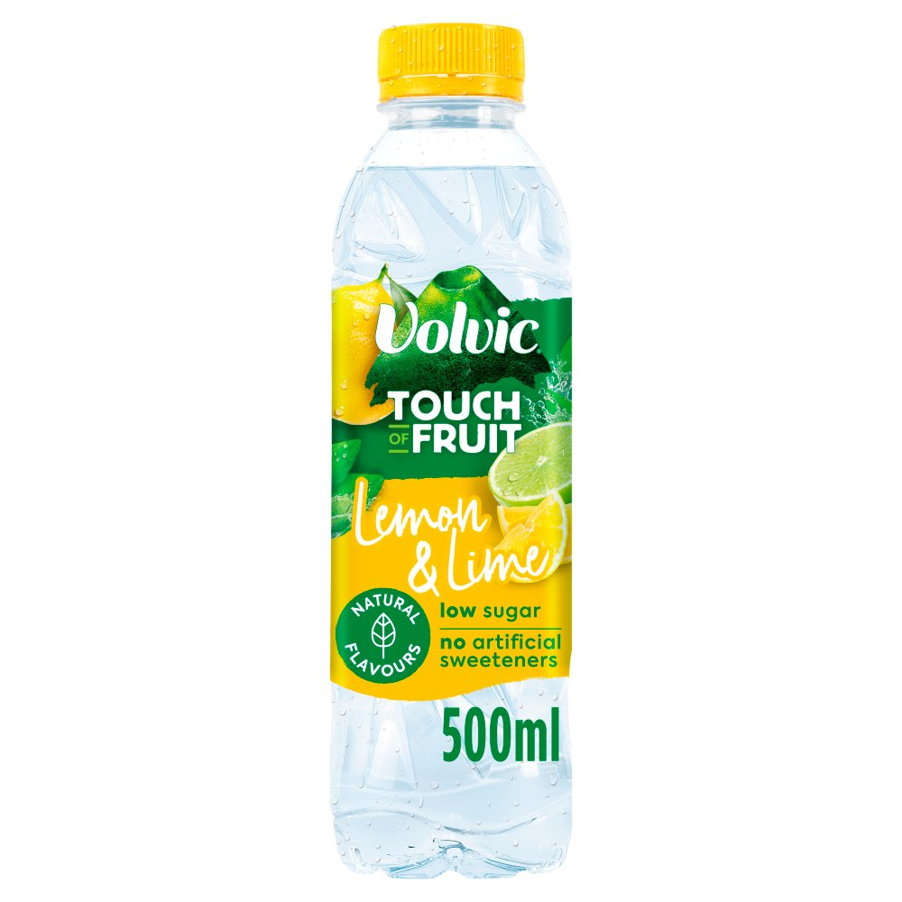 Volvic Touch Of Fruit Lemon & Lime 500ml