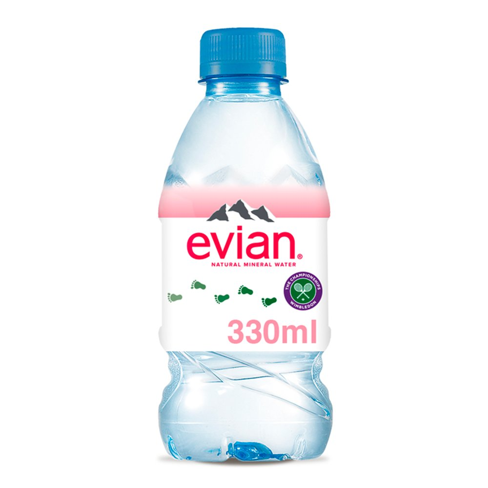evian Still Natural Mineral Water 33cl