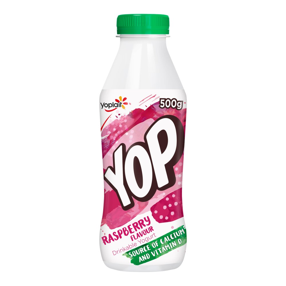 Yop Raspberry Flavour Yogurt Drink 500g